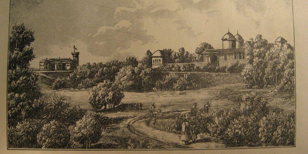 Cotrocenii vazuti in 1864 de Henry Trenk