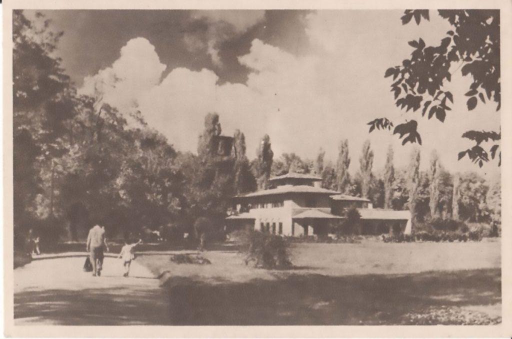cotroceni gradina botanica 1958