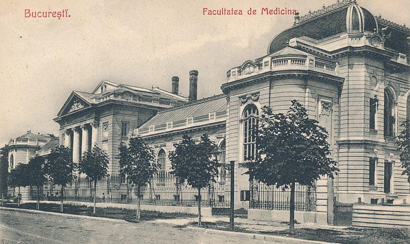 facultatea de medicina umana bucuresti cca 1910 poze vechi