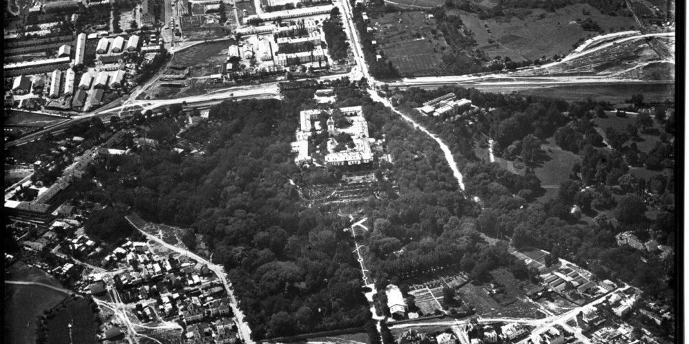 cotroceni anul 1927 vedere aeriana