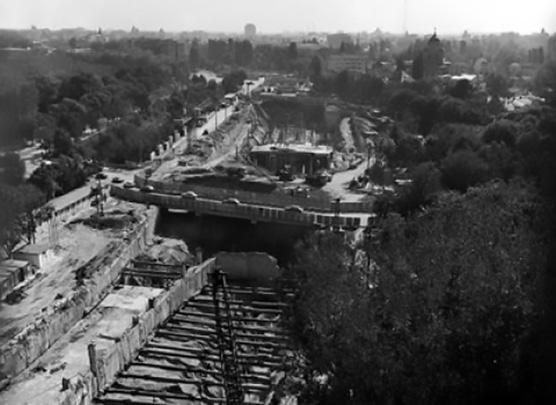 cartierul cotroceni constructie metrou eroilor anul 1977