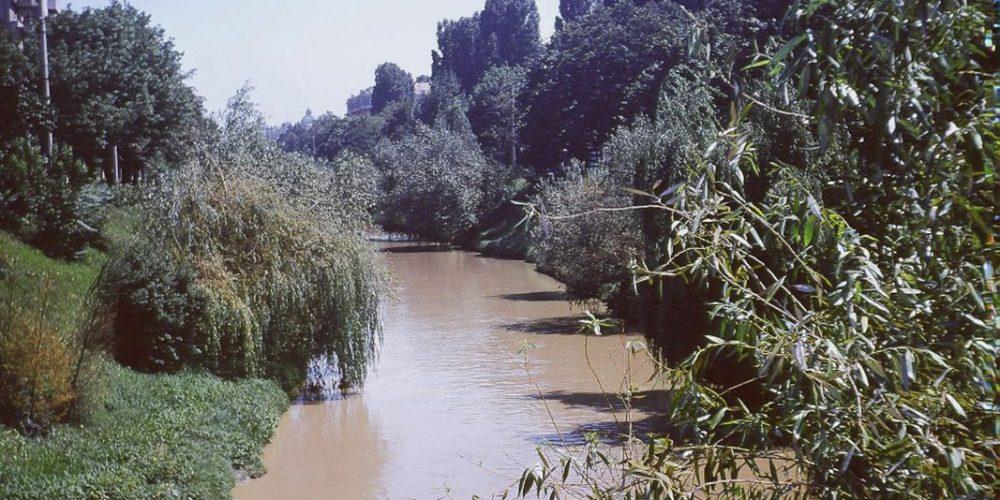 Cotroceni Podul Operei spre Izvor anul 1971 - Robert Janak