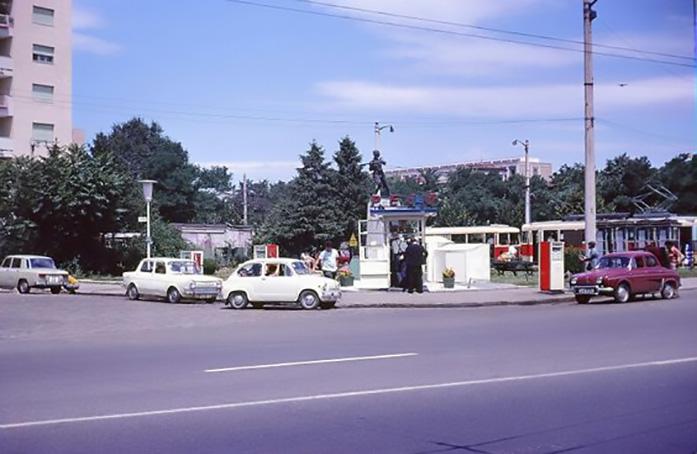 cotroceni PECO - podul cotroceni anul 1971 - Robert Janak