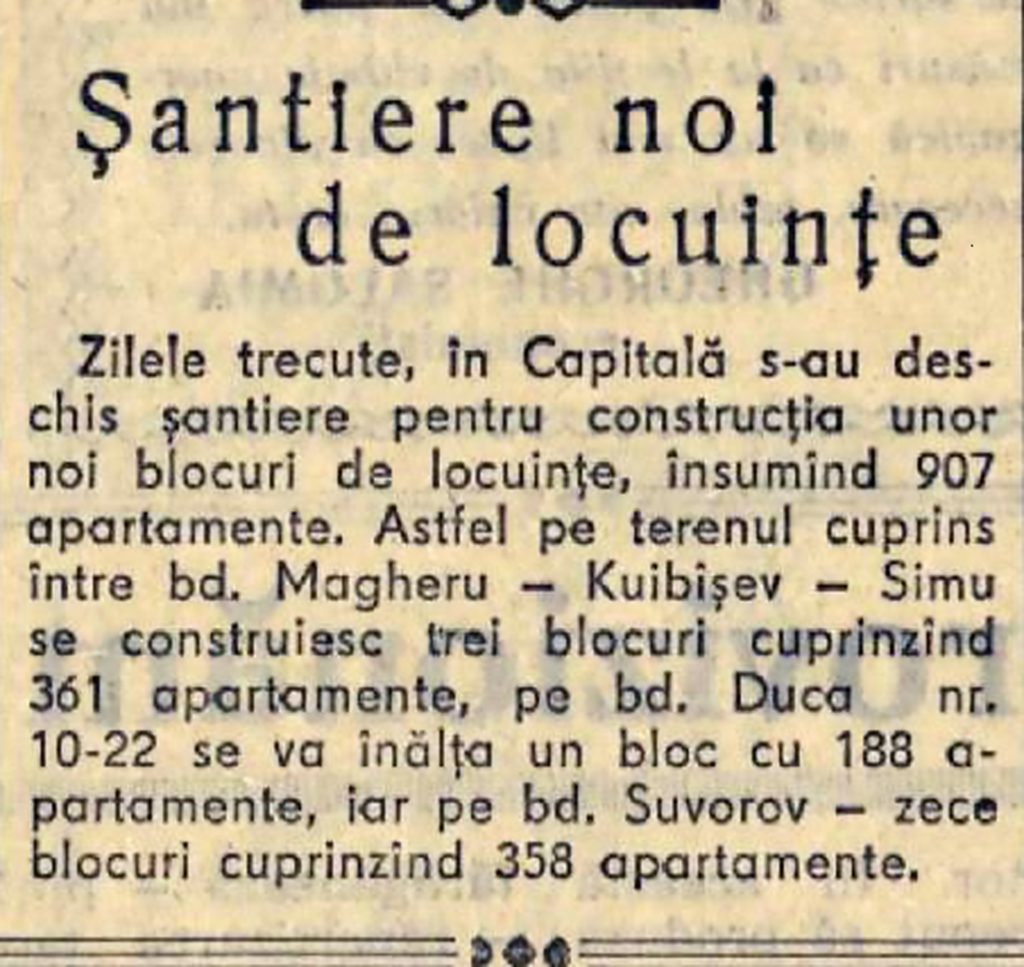 B-dul Suvorov Cartier Cotroceni