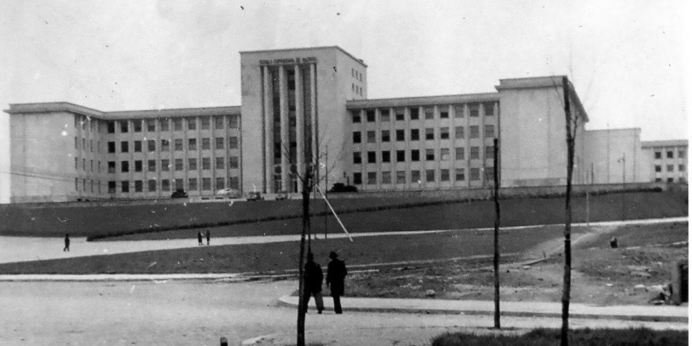 SCOALA SUPERIOARA DE RAZBOI -cartier cotroceni anul 1944