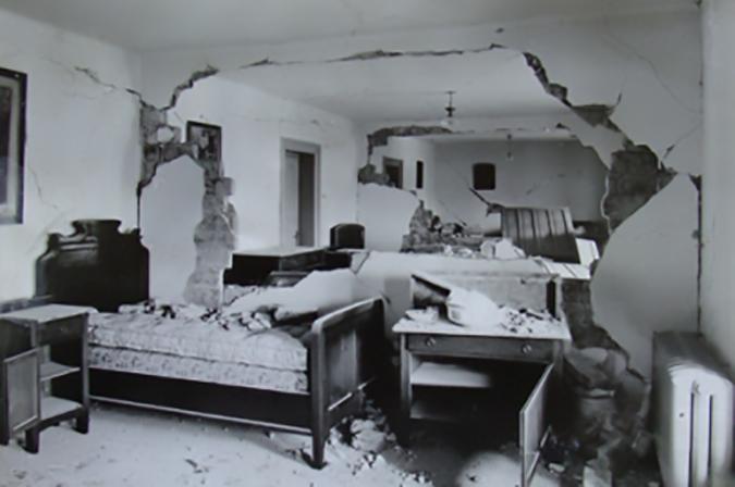palatul cotroceni cutremur noiembrie 1940