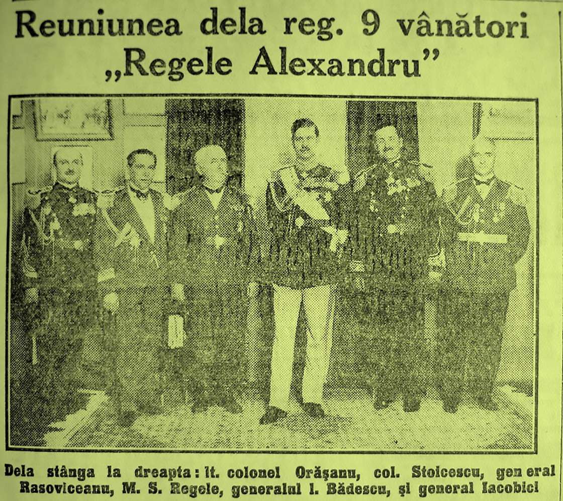 Regele Alexandru al Iugoslaviei REGELE CAROL II ARTICOL ZIAR