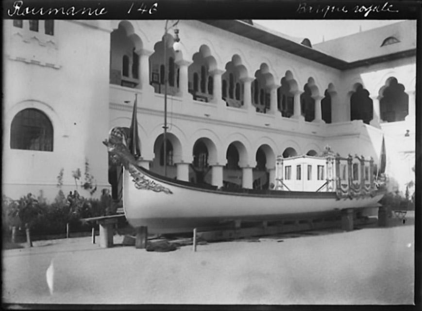 barca regala carol 1 palatul cotroceni