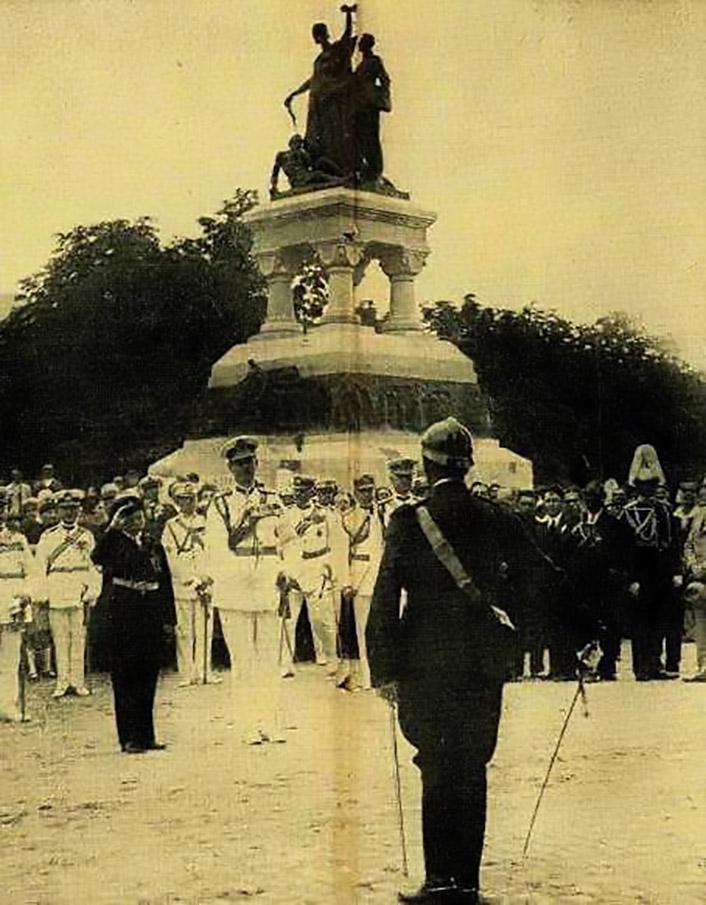 monumentul eroilor sanitari anul 1932 cartier cotroceni
