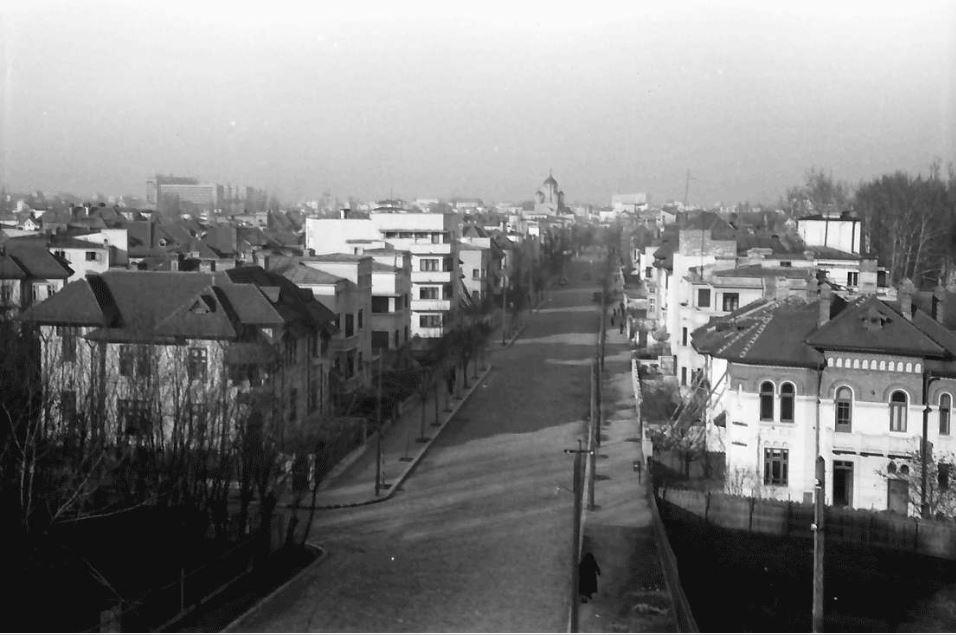 Willy pragher - strada doctor lister poza anul 1941 luna martie cartierul cotroceni fotografii vechi bucuresti
