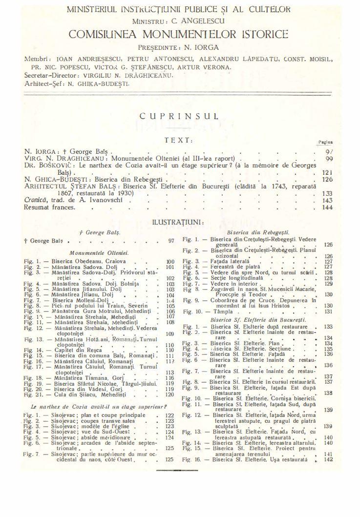 biserica sf elefterie vechi cartier cotroceni renovare perioada interbelica stefan bals perioada 1929 - 1935 Fila 2