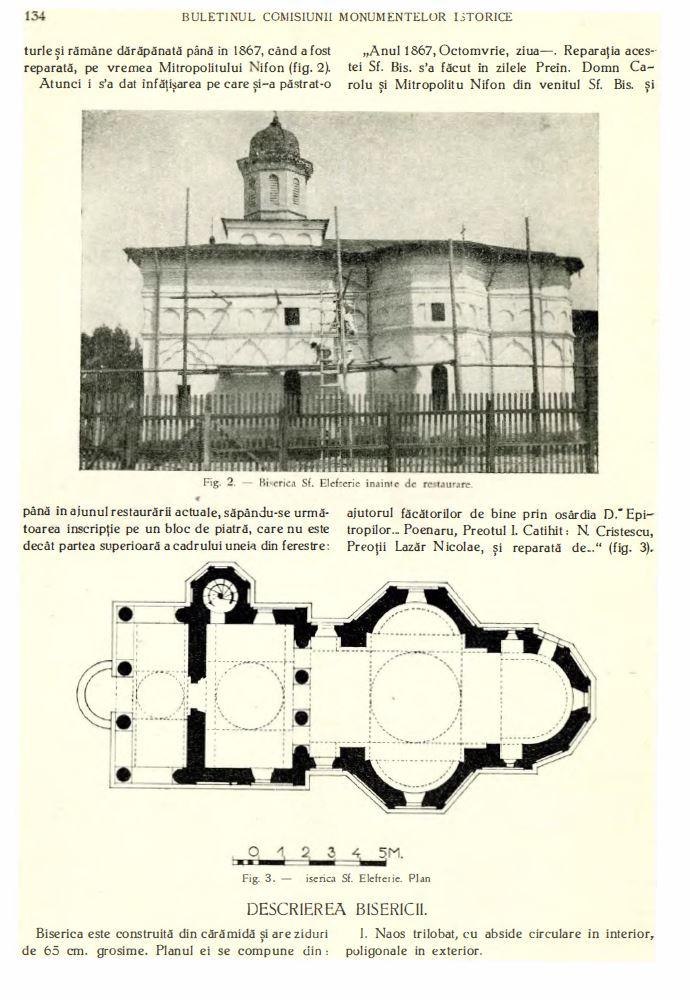 biserica sf elefterie vechi cartier cotroceni renovare perioada interbelica stefan bals perioada 1929 - 1935 Fila 4
