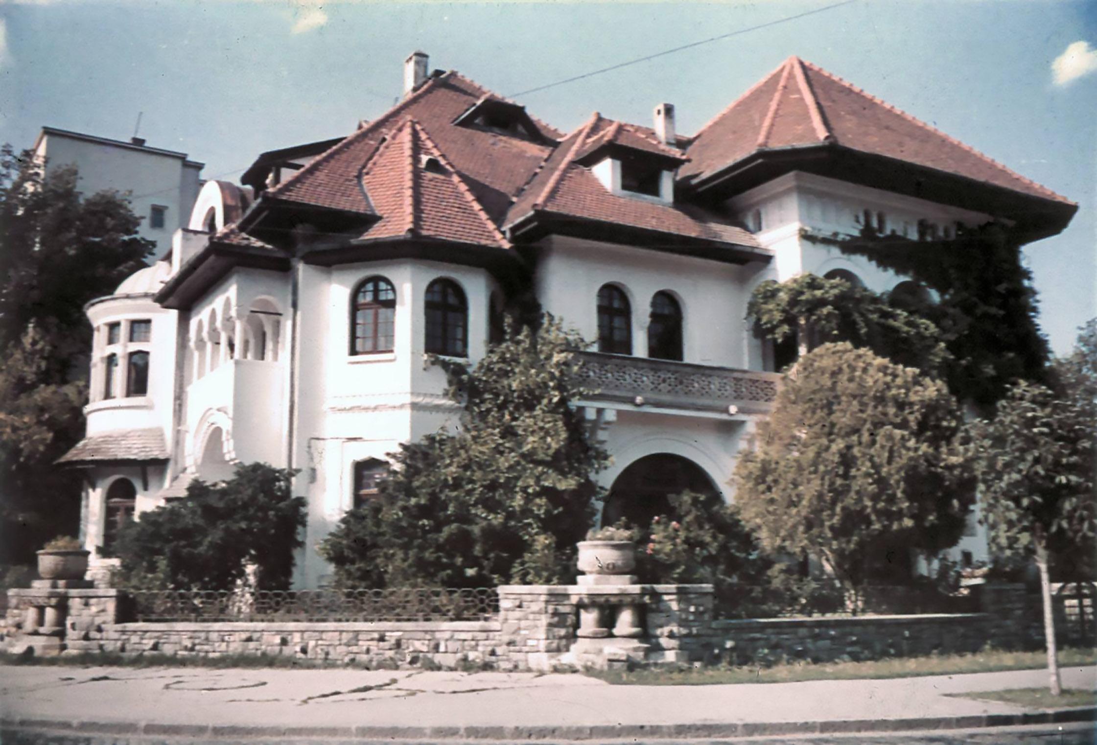 casa printului nicolae cotroceni anul 1976