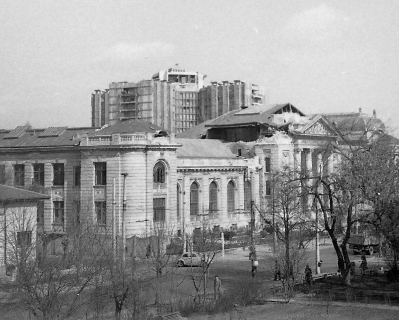 Facultatea de Medicina Umana dupa cutremurul din 4 Martie 1977