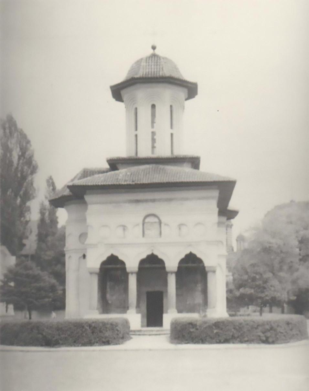 fatada biserica sf elefterie vechi cartier cotroceni fotografii vechi bucuresti aproximativ anul 1940