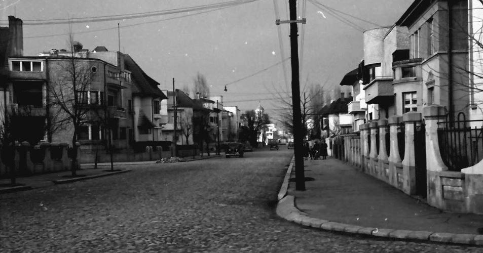 willy pragher -poze imagini vechi strada doctor lister poza din anul 1939 CARTIER Cotroceni Bucuresti