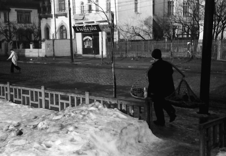 willy pragher - strada sfantul elefterie poza anul 1941 luna ianuarie cartier cotroceni