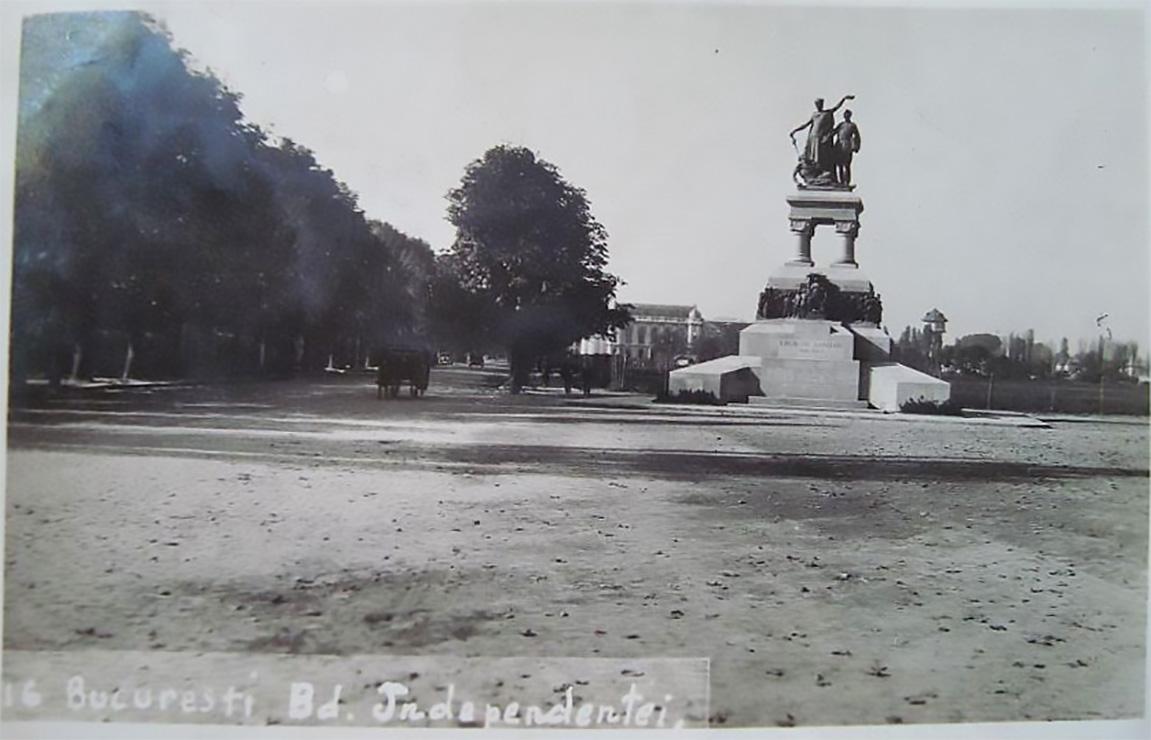 monumentul eroilor sanitari imagine fotografie poza cadru vechi cartieul cotroceni perioada interbelica anul 1934