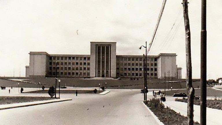 scoala superioara de razboi sau academia militara din cartier cotroceni imagini poze fotografii vechi bucuresti interbelic