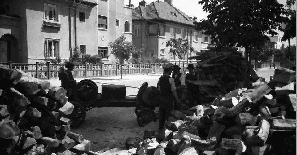 willy pragher - strada sfantul elefterie poza anul 1941 luna mai cotroceni