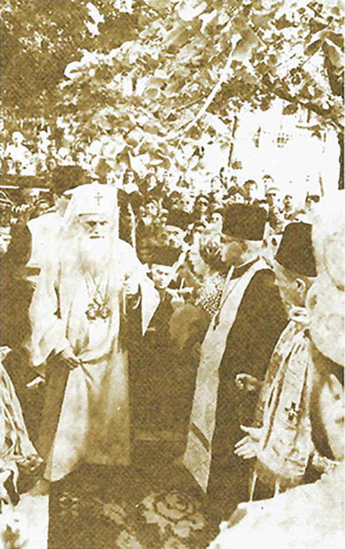 inaugurarea bisericii sf. elefterie nou 1970