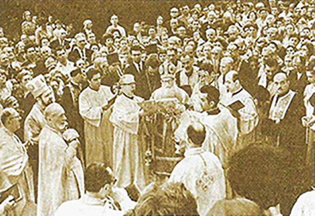 inaugurarea bisericii sf. elefterie nou anul 1978 cotroceni
