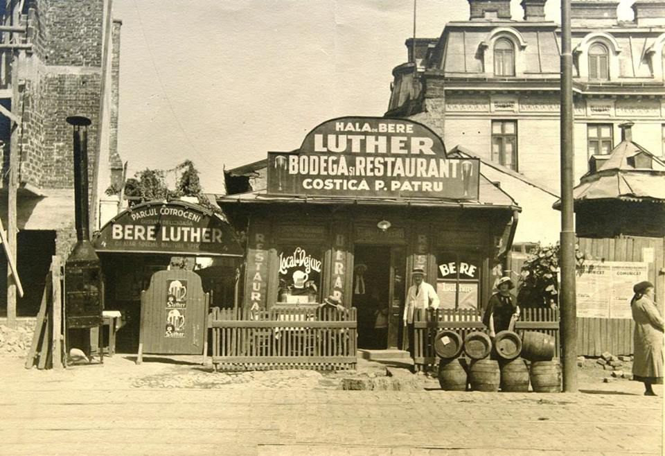Parcul Cotroceni Bodega si Restaurant Costică P Patru anul 1934 Case Cotroceni