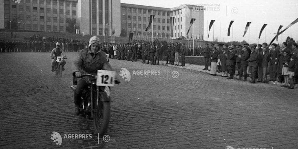 bucuresti poze vechi - cartier cotroceni - 1949 anul acadaemia militara fara statuie