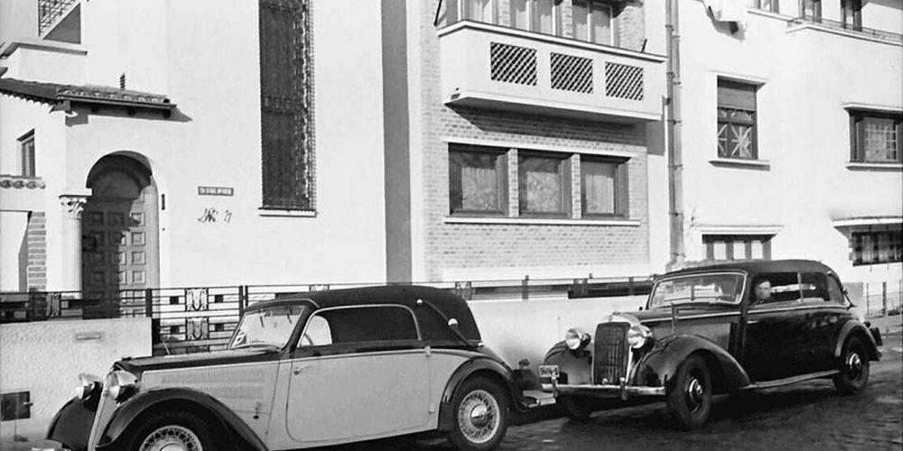 fotografii vechi bucuresti bucharest bucuresci interbelic in cartierul cotroceni fotograf willy pragher strada doctor nicolae vicol