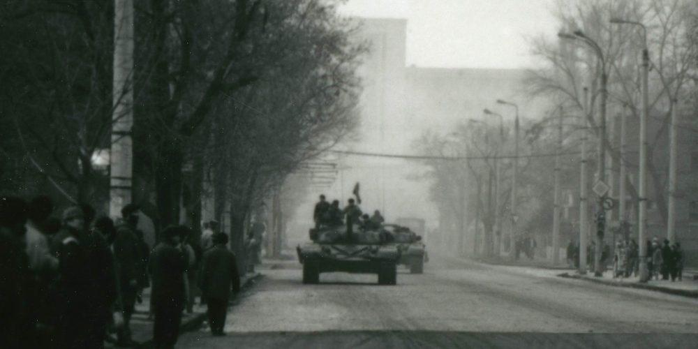 Revolutia Romana Ceausescu Decembrie 1989 Bucuresti Cartier Cotroceni Academia Militara tanc romanesc T-72