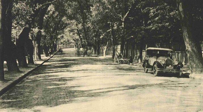 foto soseaua cotroceni in anii 1920 - cartier cotroceni poze fotografii imagini cadre instantanee vechi