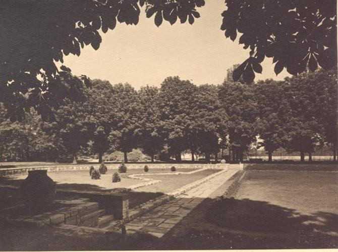 gradina botanica din bucuresti cotroceni anul 1935 - perioada interbelica - fotografie veche 4