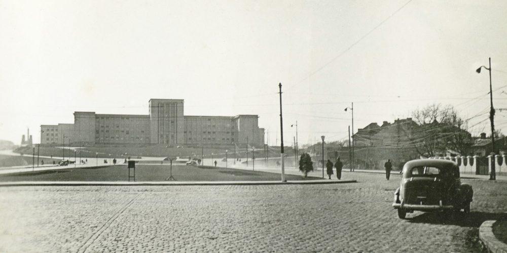 universitatea nationala de aparare carol I cotroceni bucuresti imagini vechi perioada 1940 1944 - academia militara bucuresti romania