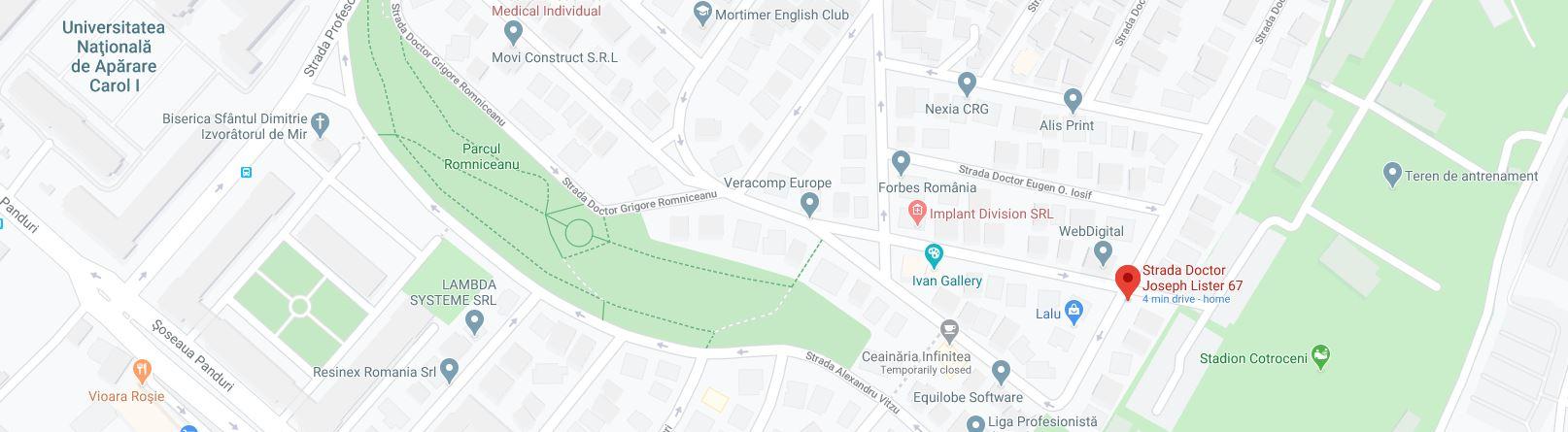 harta google maps poze imagini cadre fotografii vechi bucuresti interbelic cartier cotroceni anul 1941 strada doctor grecescu cu doctor lister autor willy pragher