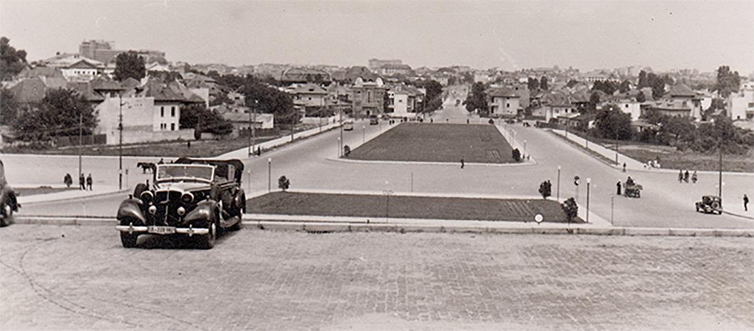 scoala superioara de razboi sau Universitatea Națională de Apărare Carol I bucuresti cartier cotroceni interbelic romania old photo