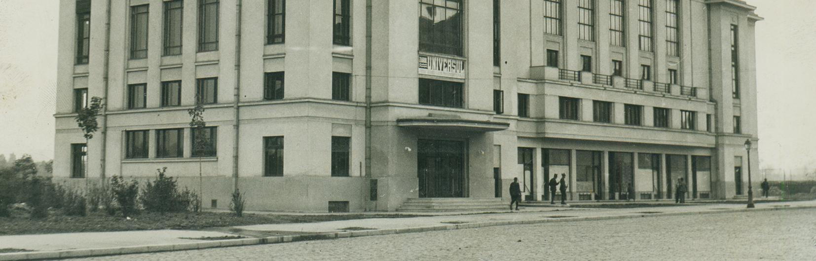 Casa de cultura a studentilor Grigore Preoteasa cartier cotroceni, Bucuresti foto perioada interbelica poze vechi cover